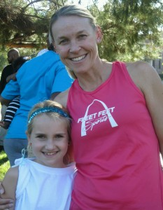 Ally and I at the Sunshyne Run and Worship in LA, Oct 2012