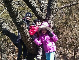 My cuties at Starved Rock State Park in Utica, IL