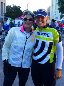 Teri and RRG at Pedal the Cause 2013