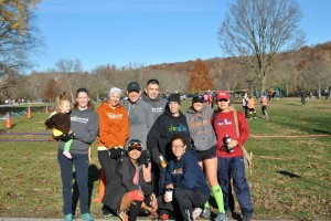 Some of our crew at Castlewood on Sunday