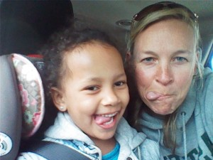 The most recent Brookie/Auntie Linds selfie.  Its a tradition. One that makes me thankful.